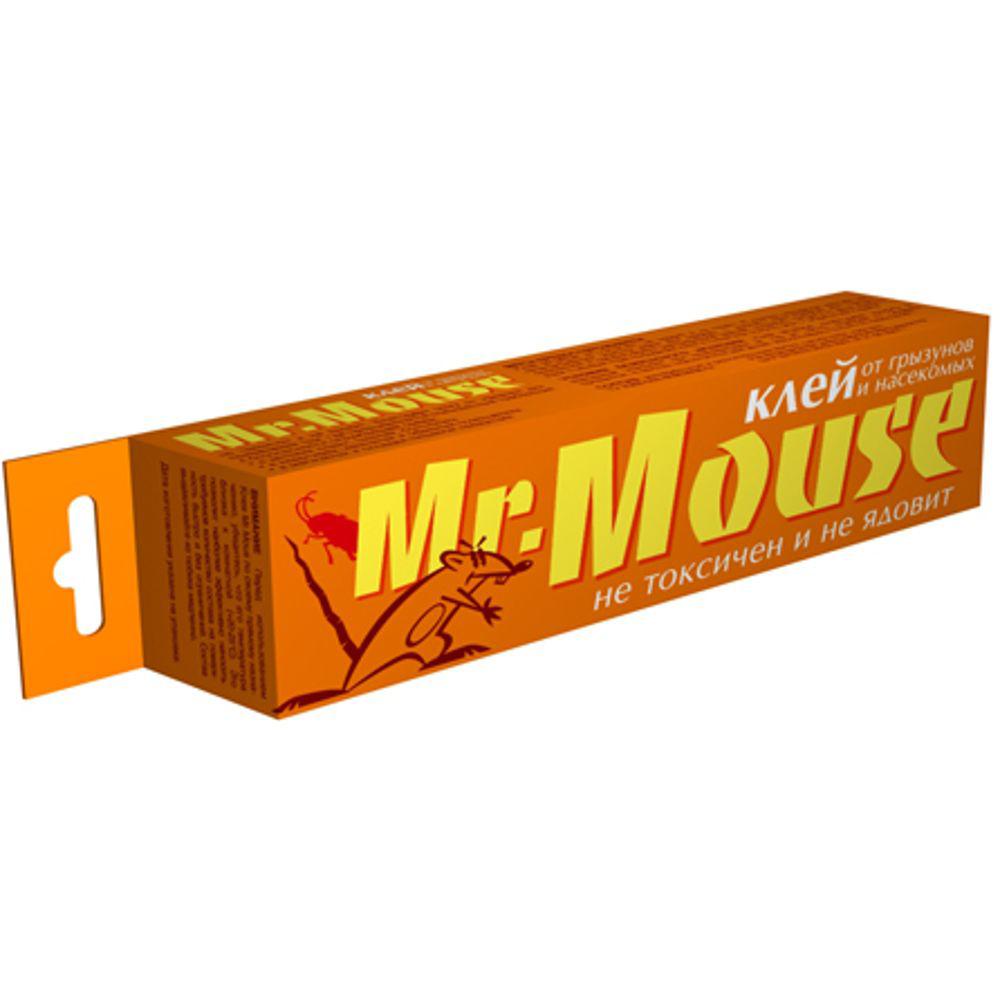 Клей от грызунов Mr.Mouse, 135 г. СЗ.0400016.295-875.0Mr.Mouse клей от грызунов и насекомых 135 грамм является универсальным, эффективным средством для механического отлова: мелких грызунов (мышей, крыс, полевок и т.д.), бытовых насекомых (тараканов, муравьев и т.д.), садовых вредителей (гусениц, улиток и т.д.) Благодаря своей уникальной структуре, Клей Mr.Mouse обладает особой липкостью и высокой способностью к удержанию в зоне контакта отлавливаемых животных. Клей Mr.Mouse НЕ ТОКСИЧЕН И НЕ ЯДОВИТ, и именно поэтому он идеально подходит для применения по своему назначению там, где живут и работают люди, хранятся продукты, Mr.Mouse клей идеален для применения там, где предъявляются требования к безопасности окружающей среды: в детских садах, школах, больницах, в квартирах, комнатах и офисных помещениях, в магазинах и складах пищевой продукции. Исключительные физико-химические свойства Клея Mr.Mouse позволяют применять его быстро и эффективно как внутри, так и снаружи помещений, в широком диапазоне показателей влажности и температуры (включая отрицательные, что особенно ценно при использовании состава в погребах и холодильных камерах). Для решения конкретных задач Клей Mr.Mouse легко наносится в требуемых количествах, как на горизонтальные, так и на вертикальные поверхности.Способы применения.Против грызунов:На лист бумаги или картона нанести Клей Mr.Mouse ровным слоем шириной не менее 1 см для мышей и не менее 2,5 см для крыс. (Возможно просто выдавить требуемое количество состава из тюбика и размазать его по поверхности необходимым для отлова животных слоем). В центре ловушки поместить приманку и установить ее в местах наиболее вероятного появления животных. После использования лист бумаги выбросить в мусорное ведро.Против бытовых насекомых:На лист бумаги или картона нанести Клей Mr.Mouse произвольно тонким слоем. (Возможно просто выдавить требуемое количество состава из тюбика и размазать его по поверхности - горизонтальной или вертикальной). В наиболее вероятных м