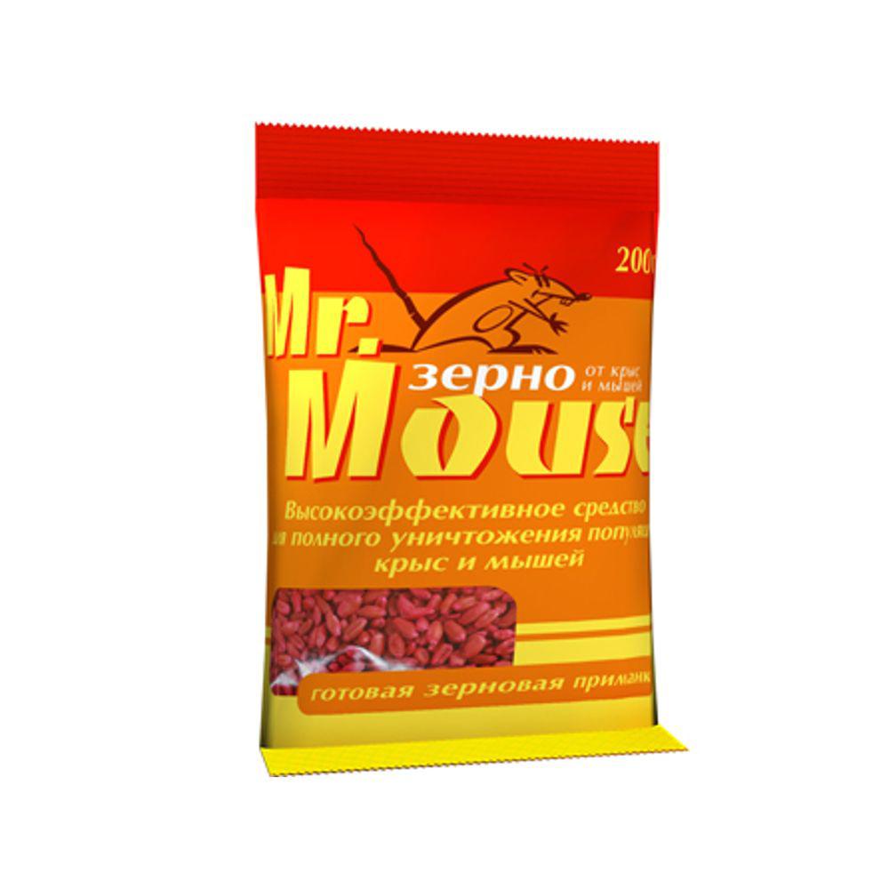 Зерновая приманка Mr.Mouse, 200 г. СЗ.040002BH-SI0439-WWРодентицидное средство Mr.Mouse в виде готовой к применению зерновой приманки красного цвета.Способы примененияПоместить средство в специально предназначенные емкости для раскладки отравленных приманок внутри помещений: контейнер, лоток, ящик или подложка из плотной бумаги и полиэтилена. Норма расхода: по 10-20г от мышей и по 30-50г от серых и черных крыс. Снаружи помещений используют контейнеры, лотки, ящики, кусочки труб, прикрывая приманку от птиц. Для водяных крыс приманку размещают в погребах, в подвалах, в буртах с овощами. Размещение в специальных емкостях повышает поедаемость средства, препятствуя его растаскиванию грызунами. Размещают емкости в предварительно выявленных местах обитания грызунов: по близости от их нор, на путях перемещения, вдоль стен и перегородок.Расстояние между точками раскладки 2-10м в зависимости от захламленности помещений и численности грызунов.Осмотр проводят через 1-2 дня, а затем с интервалом в одну неделю, восполняя по мере поедания. Загрязненную приманку следует заменить на новую. Нетронутые брикеты можно перенести в другое место. Работу проводят до исчезновения грызунов. Действующие вещество: бромадиолон - 0,005%