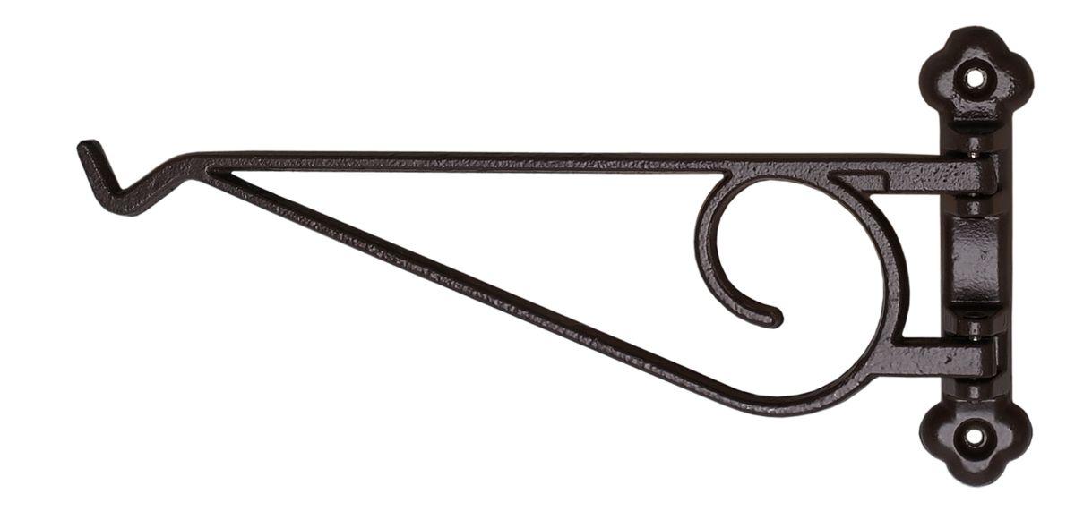 Кронштейн для кашпо Masterprof, поворотный, длина 22,9 см, цвет: черный531-402Кронштейн для подвешивания кашпо Masterprof подходит для использования внутри и снаружи помещений.Рабочая длина 22,9 см.Максимальная нагрузка на кронштейн - 22,7 кг. Диаметр используемого кашпо до 30,5 см.