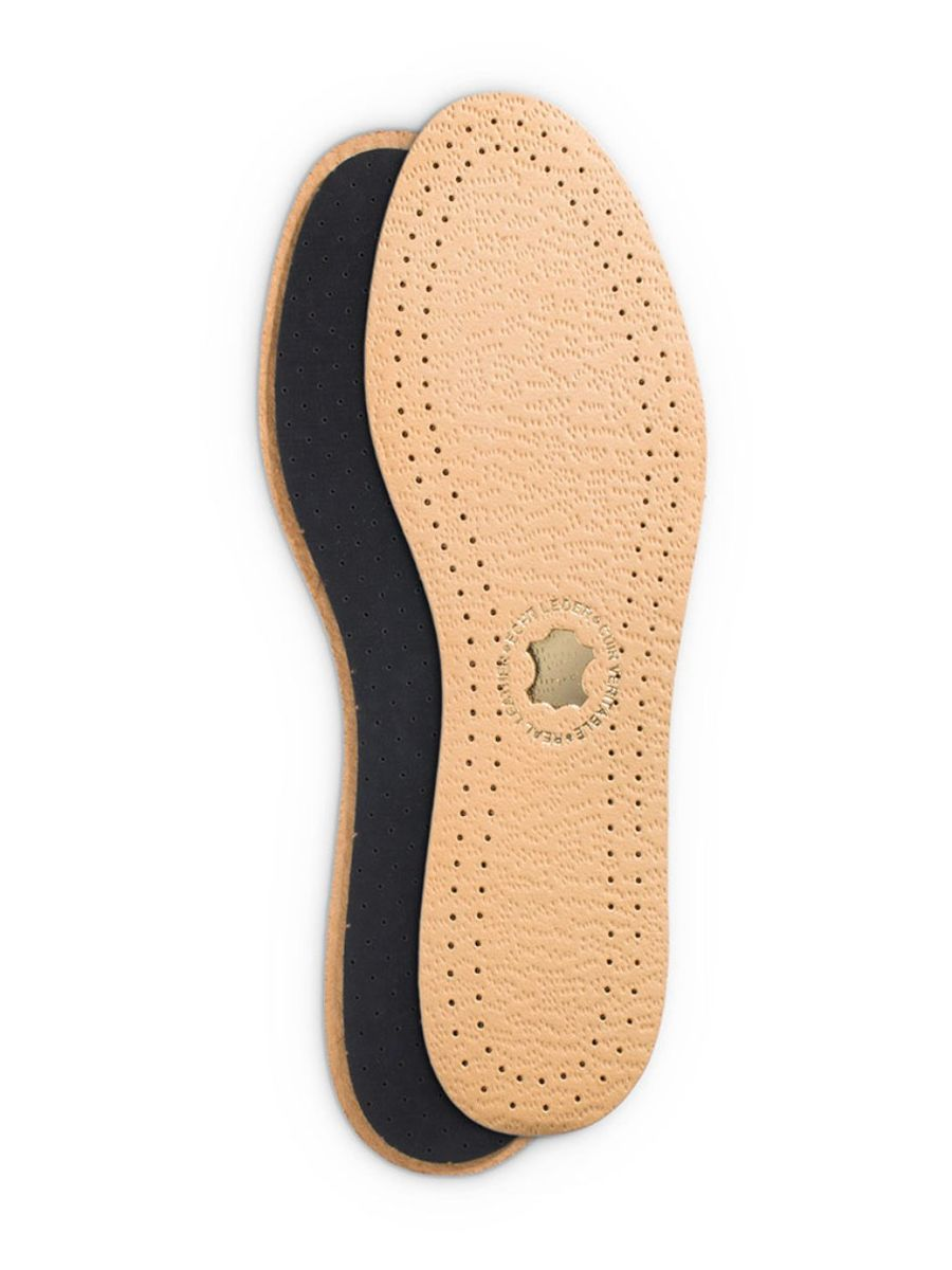 Дезодорирующая стелька Duke of Dubbin Duke Leder Activ, с покрытием из вискозы. Размер 4554 002814Дезодорирующая стелька с покрытием из вискозы повышает комфорт при хотьбе и обеспечивает дополнительную амортизацию. Фильтр из активированного угля нейтрализует запах, а перфорации на подошве поддерживают циркуляцию воздуха в обуви.