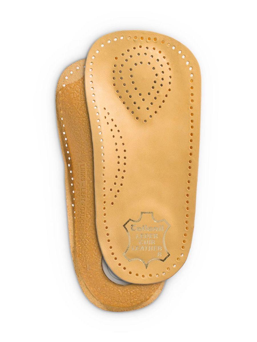 Стельки для обуви Collonil Activ, для профилактики плоскостопия, 2 шт. Размер 39MW-3101Стельки Collonil Activ изготовлены из дубленой кожи на жесткой пластиковой основе, повторяющей правильное анатомическое строение стопы. Помогает уменьшить нагрузку на сухожилия и суставы ног. Уравновешивает давление на подошву стопы для максимального комфорта. Количество: 2 шт.