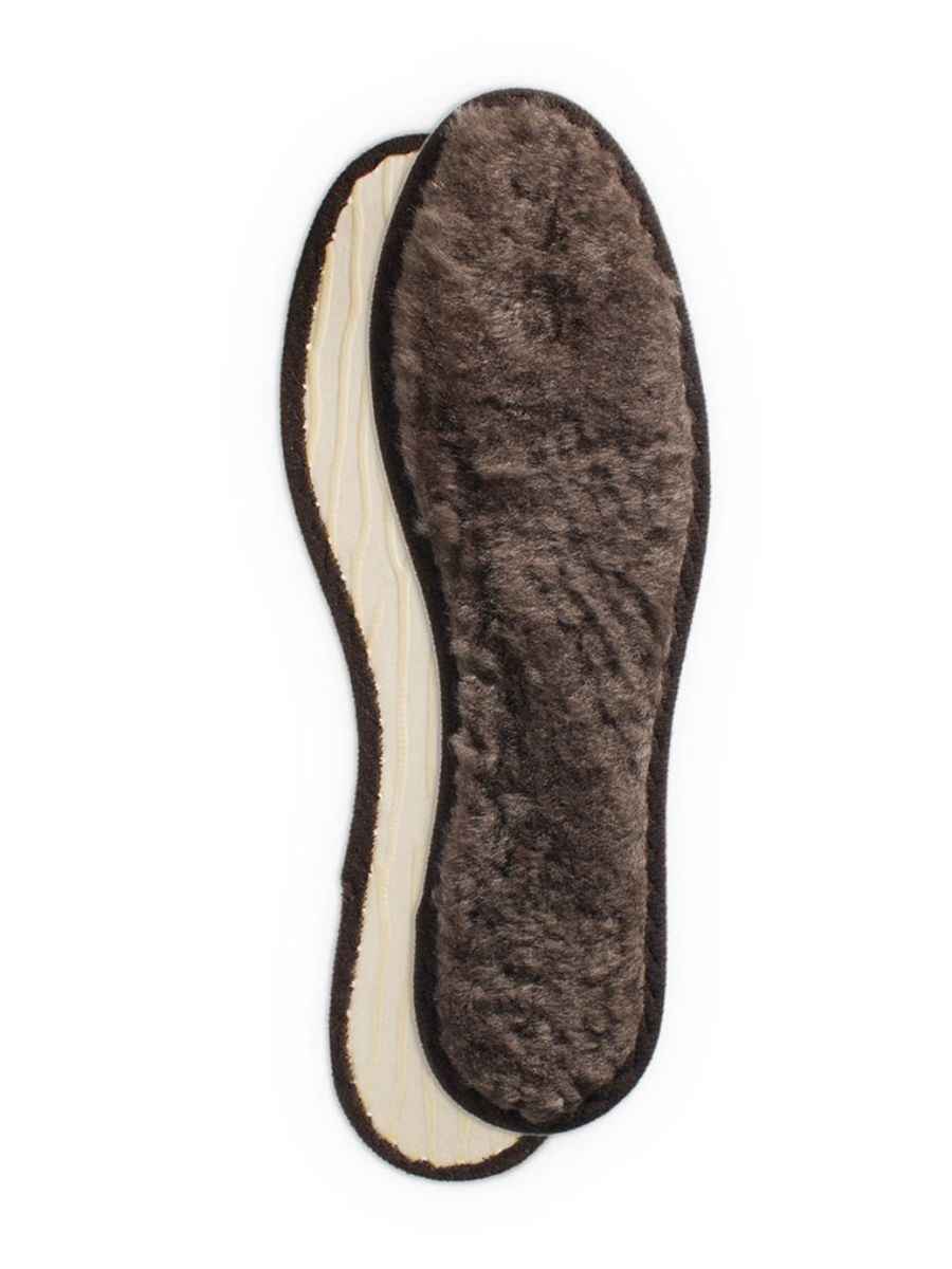 Стельки зимние для обуви Collonil Polar, из меха ягненка, 2 шт. Размер 46SS 4041Стельки Collonil Polar выполнены из натурального меха ягненка. Они греют ноги естественным образом, мягкая прокладка обеспечивает отличную амортизацию и комфортную теплоту, хорошая фиксация предотвращает скольжение и обеспечивает оптимальный комфорт для ног при использовании в обуви. Размер: 46.Количество: 2 шт.