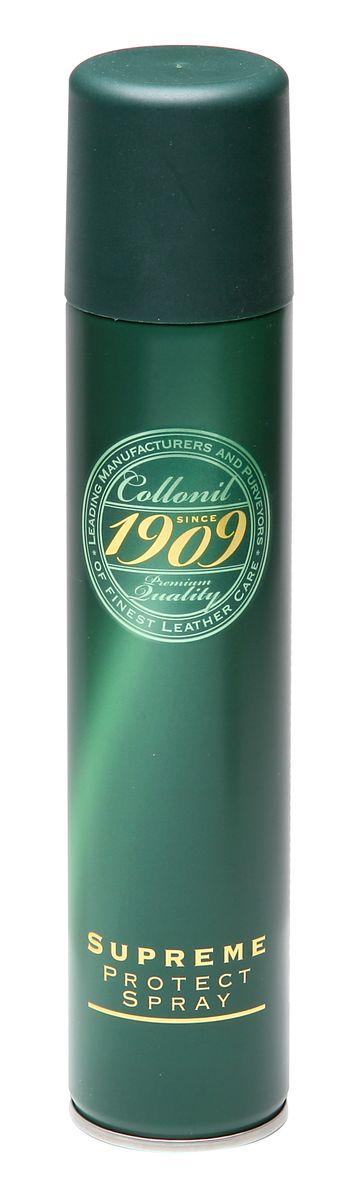 Спрей для обуви Collonil 1909 Supreme Protect Spray, водоотталкивающий, 200 мл3303 399Сильнодействующий защитный спрей Collonil 1909 Supreme Protect Sprayпредназначен для первоначальной пропитки и ухода за чувствительной гладкой кожей, замшей, велюром, нубуком, текстильными материалами и их комбинациями. Пропитывает и надежно защищает в течение длительного времени обувь, одежду, сумки и другие кожаные аксессуары от влаги, грязи и выцветания. Предотвращает образование снежных, водных и солевых разводов. Благодаря особым ингредиентам, придает коже грязеотталкивающие свойства и продлевает срок службы изделия. Освежает и насыщает цвет, сохраняет способность кожи дышать.Товар сертифицирован.