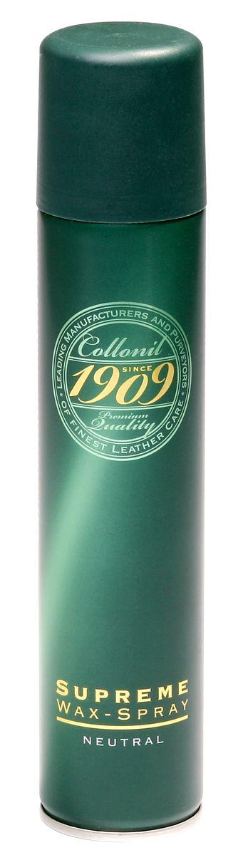 Спрей для обуви Collonil Wax Spray, 200 млIRK-503Спрей Collonil Wax Spray предназначен для гладкой кожи с зеркальным блеском, промасленного нубука, навощенной и сохраненной в натуральном виде гладкой кожи. Пропитывает и ухаживает, придает водо- и грязеотталкивающие свойства. Щадит материал и сохраняет его свойства.Объем: 200 мл. Товар сертифицирован.