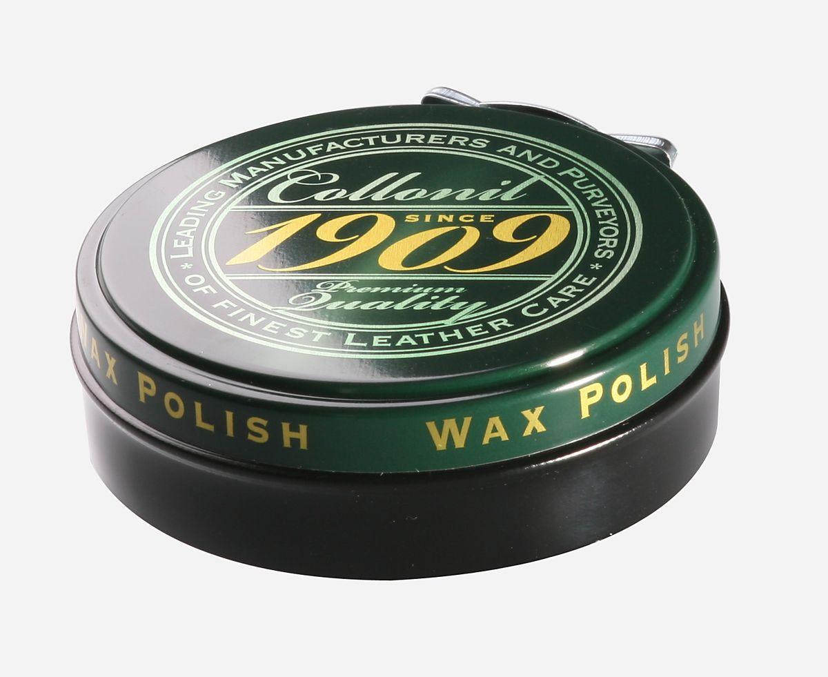 Воск для обуви Collonil Wax Polish, цвет: черный, 75 млSS 4041Высококачественный твердый воск Collonil Wax Polish подходит для всех видов гладкой кожи. Комплексное сочетание шести видов восков, в том числе натурального пчелиного воска, насыщает кожу питательными веществами, заботится о сохранении ее качества и ухоженного внешнего вида. После полировки придает обуви роскошный блеск и сияние. Применяется для финишной обработки изделия.Объем: 75 мл. Товар сертифицирован.