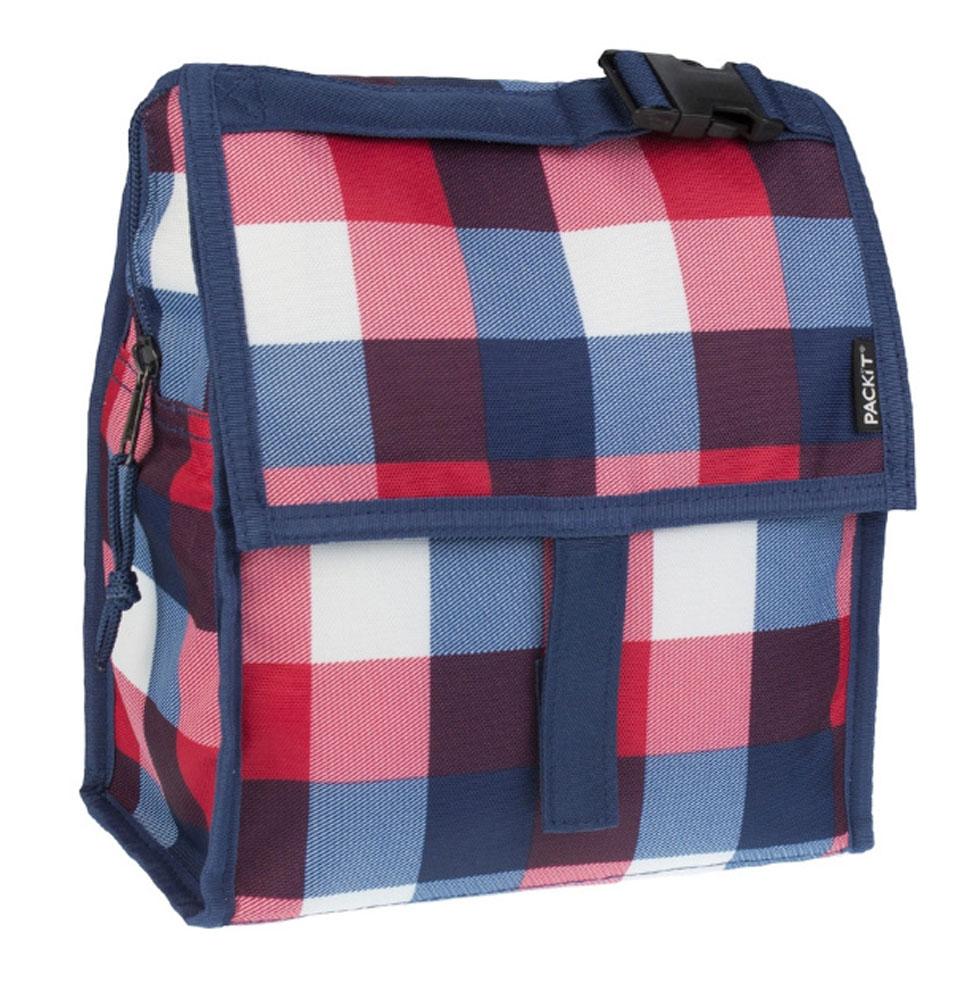 Сумка-холодильник Packit Lunch Bag, цвет: синий, 4,5 лAS 25Охлаждение содержимых в сумке продуктов в течение 10-ти часов. Наличие плечевого ремня, обеспечивающего максимальное удобство транспортировки сумки.