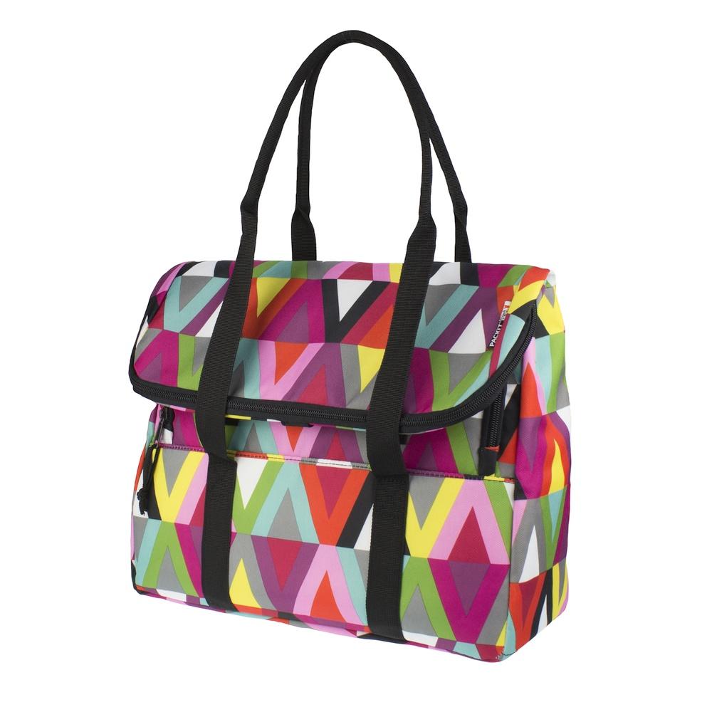 Сумка-холодильник Packit дорожная, цвет: разноцветный, 10 л6.295-875.0Охлаждение содержимых в сумке продуктов в течение 10-ти часов. Наличие плечевого ремня, обеспечивающего максимальное удобство транспортировки сумки.