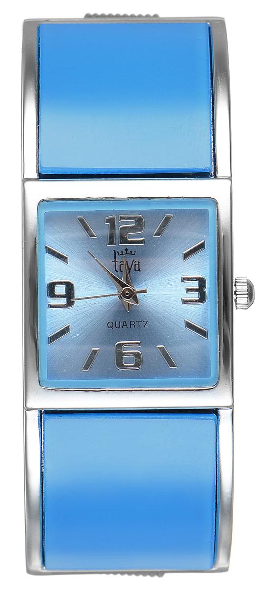 Часы наручные женские Taya, цвет: серебристый, голубой. T-W-0411BM8434-58AEСтильные женские часы Taya выполнены из минерального стекла и нержавеющей стали. Циферблат часов оформлен символикой бренда.Корпус часов оснащен кварцевым механизмом со сменным элементом питания и дополнен раздвижным браслетом с пружинным механизмом.Часы поставляются в фирменной упаковке.Часы Taya подчеркнут изящность женской руки и отменное чувство стиля у их обладательницы.