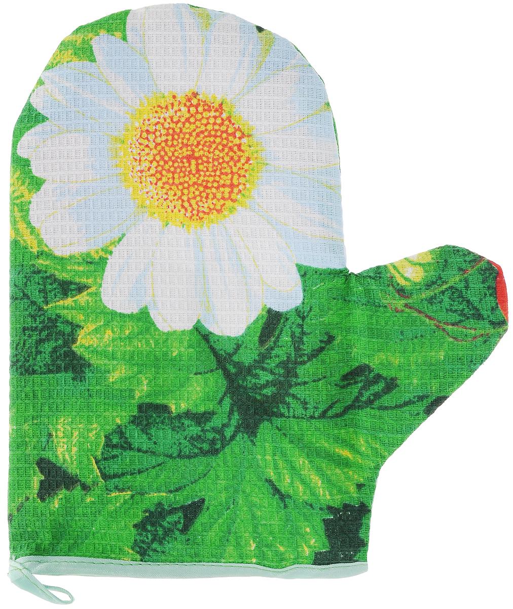 Прихватка-рукавица Roko, 23 х 19,5 смSVC-300Прихватка-рукавица Roko, изготовленная из 100% хлопка, оформлена красочным принтом. Изделие оснащено текстильной петелькой для подвешивания на крючок. Такая прихватка защитит ваши руки от высоких температур и предотвратит появление ожогов. Уважаемые клиенты! Товар поставляется в цветовом ассортименте. Поставка осуществляется в зависимости от наличия на складе.Размер изделия (ДхШ): 23 х 19,5 см.