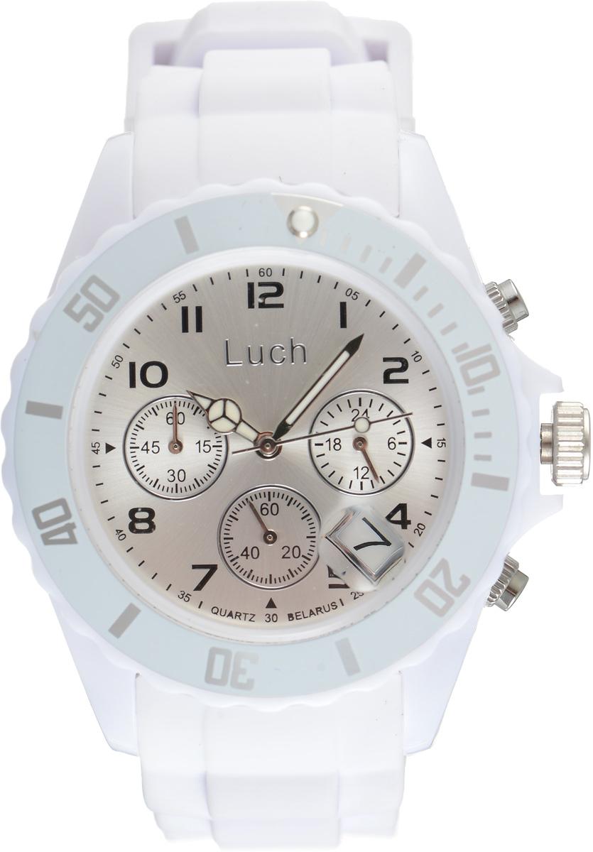 Zakazat.ru: Часы наручные женские Луч, цвет: белый. 728885014