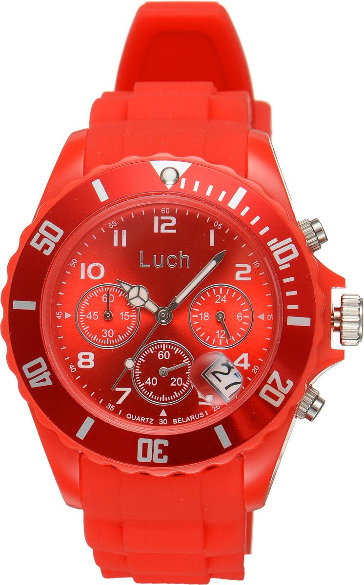 Часы наручные женские Луч, цвет: красный. 728885020