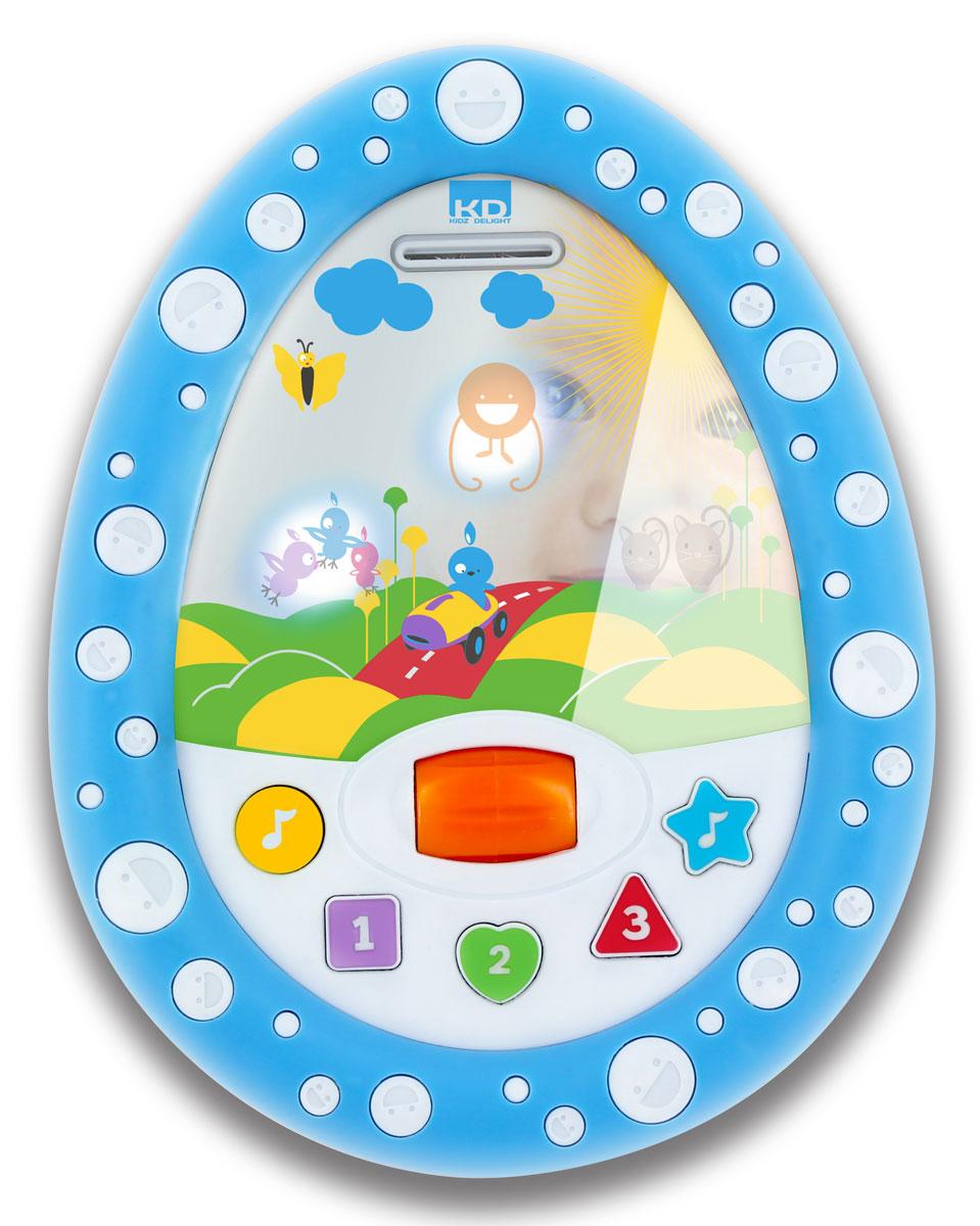 Kidz Delight Развивающая игрушка Мое первое электронное зеркальце машинки kidz delight машинка полиция