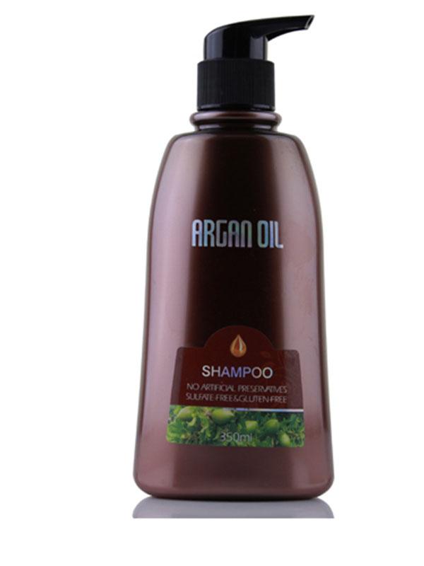 Morocco Argan Oil Шампунь с маслом арганы 350млCF5512F4Активные ингредиенты и их эффект:Жидкое золото - драгоценное масло арганы давно зарекомендовало себя как отличное косметическое средство, позволяющее восстановить и укрепить волосы, вернуть им силу блеск. В составе масла арганы большой процент жирных кислот, витаминов, антиоксидантов, которые улучшают состояние кожи головы и волос, питают волосяные луковицы, способствуя росту сильных и здоровых волос.Масло сладкого миндаля обеспечивает защиту волосам от негативного действия солнца и ветра, содержит витамины А и Е, B и F, глубоко увлажняет и восстанавливает волосы.Экстракт женьшеня улучшает рост волос, тонизируя и насыщая кожу необходимыми компонентами, предотвращает развитие перхоти и помогает сохранить оптимальный баланс влаги в волосах и коже головы.Шалфей замедляет выпадение волос, обладает противовоспалительным эффектом, нормализует pH кожи и волос.Экстракт мыльнянки является естественным природным очищающим компонентом, он удаляет загрязнения и кондиционирует волосы, делая их нежными и послушными.Экстракт водорослей кельп необходим для роста здоровых волос, ведь он имеет богатый состав, в который входят как витамины АВСЕ, так и йод, протеины и полисахариды, отлично усваивающиеся кожей головы. Экстракт лимонной травы производит выраженный антисептический эффект, улучшает метаболизм, ускоряя процессы образования волоса.Экстракт гинкго билоба способствует восстановлению секущихся кончиков, придает волосам здоровый блеск, делает их более упругими.Экстракт белой розы стимулирует рост волос и придает им невероятную гладкость и здоровый блеск, восстанавливает структуру волос и защищает от внешних воздействий.