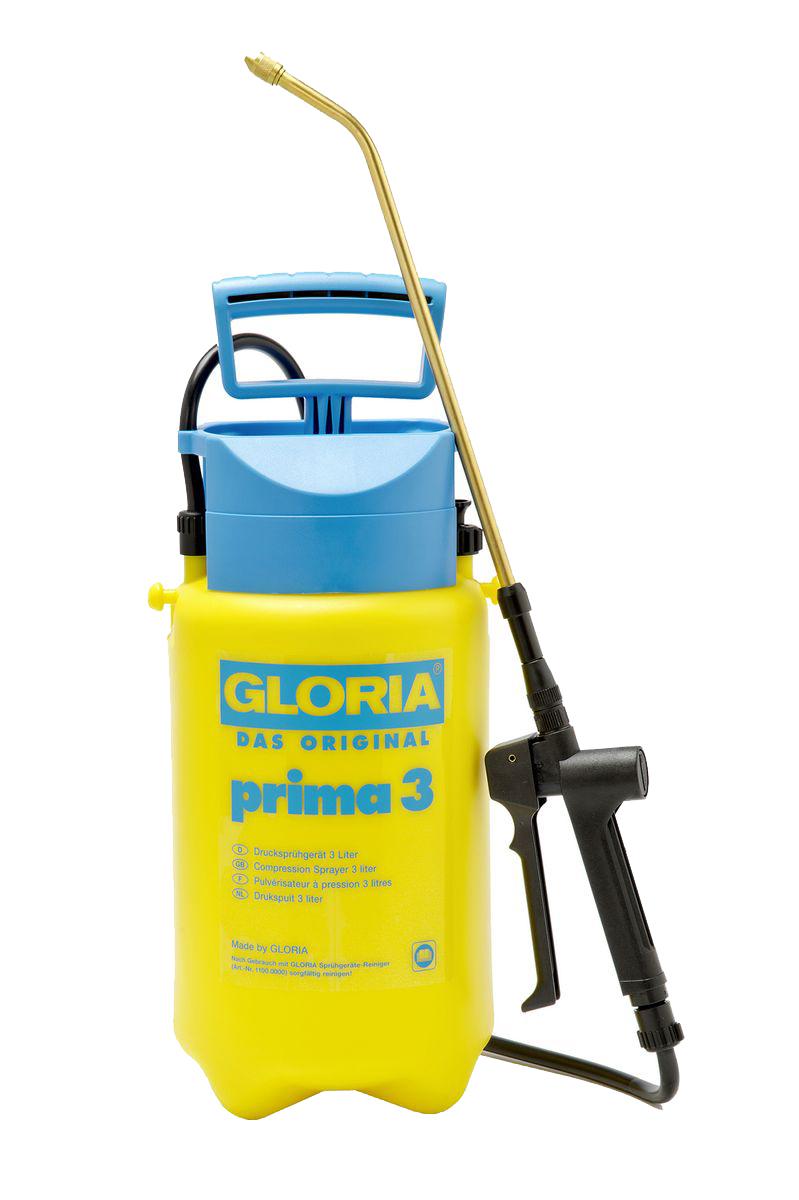 Опрыскиватель садовый Gloria Prima 3, 3 л21198Опрыскивание тонкой струей ручного распылителя обеспечивает экономичность, удобство и практичность. В нашей большой, хорошо зарекомендовавшей себя программе по уходу за растениями, это самый востребованный опрыскиватель. Объем 3 л. и макс. рабочее давление 3 бар обеспечивает наилучшие результаты распыления. Модель оснащена встроенным предохранительным клапаном.