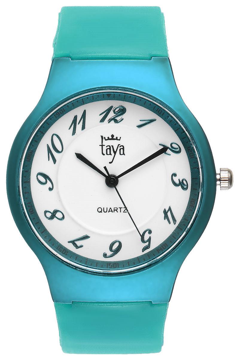 Zakazat.ru: Часы наручные женские Taya, цвет: бирюзовый. T-W-0224