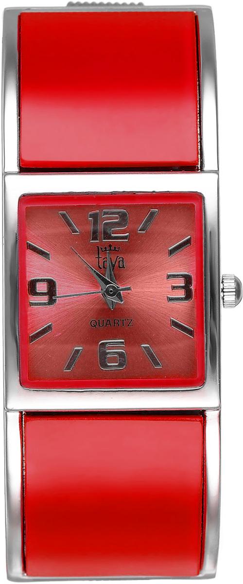 Часы наручные женские Taya, цвет: серебристый, красный. T-W-0408BM8434-58AEСтильные женские часы Taya выполнены из минерального стекла и нержавеющей стали. Циферблат часов оформлен символикой бренда.Корпус часов оснащен кварцевым механизмом со сменным элементом питания и дополнен раздвижным браслетом с пружинным механизмом.Часы поставляются в фирменной упаковке.Часы Taya подчеркнут изящность женской руки и отменное чувство стиля у их обладательницы.