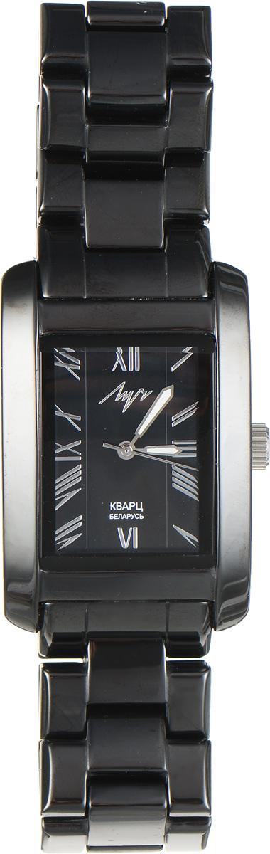 Часы наручные мужские Луч, цвет: черный. 928667186BM8434-58AEМодные мужские часы Луч из Керамической коллекции выполнены из керамики, нержавеющей стали и минерального стекла. Циферблат дополнен символикой бренда. На стрелки нанесен светящийся состав.Корпус часов оснащен кварцевым механизмом со сменным элементом питания, а также дополнен браслетом, который застегивается на застежку-бабочку.Часы поставляются в фирменной упаковке. Часы Луч - стильный аксессуар, выгодно дополняющий любой образ.