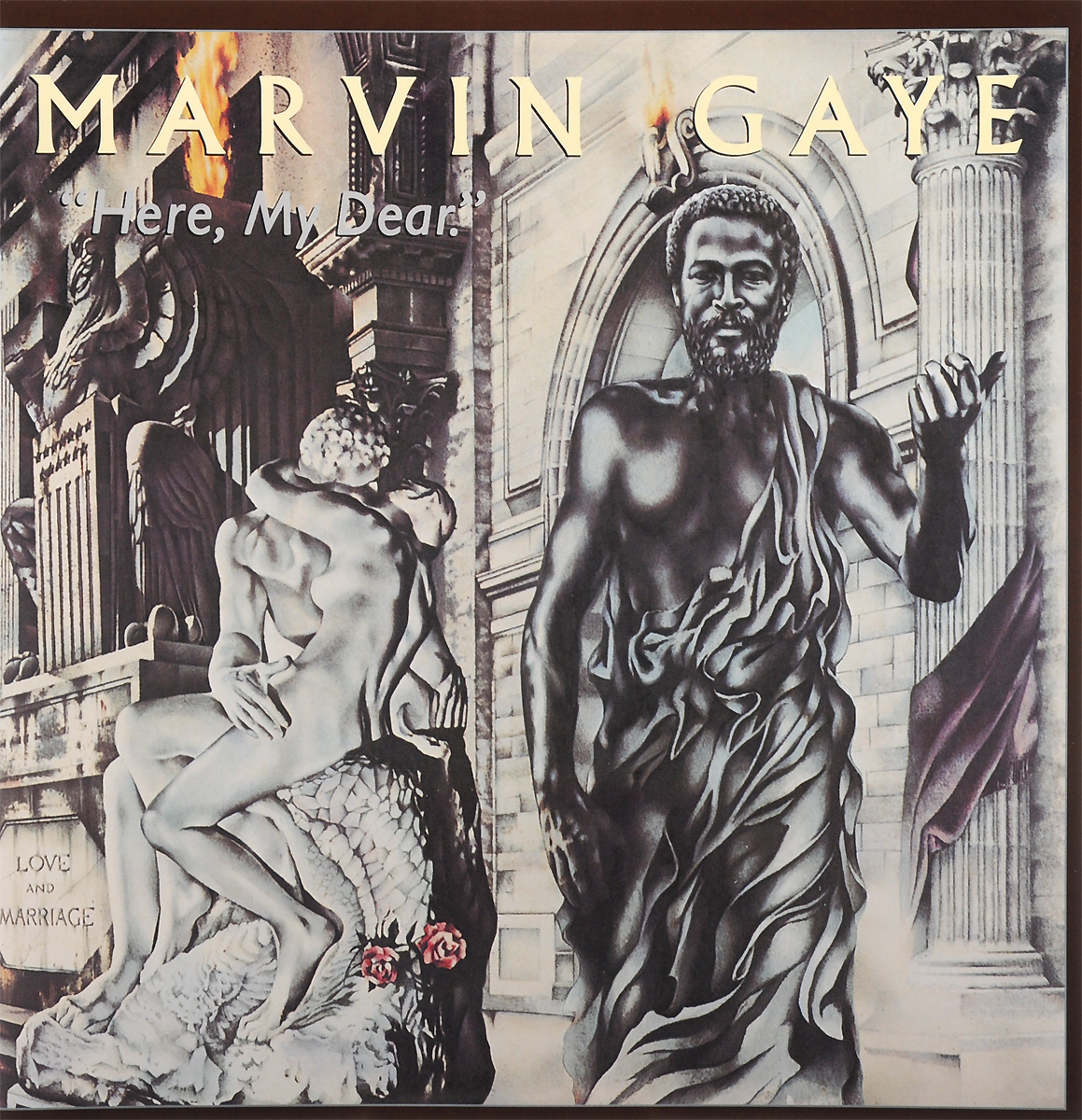 Марвин Гэй Marvin Gaye. Here, My Dear (2 LP) марвин гэй marvin gaye a tribute to the great nat king cole lp