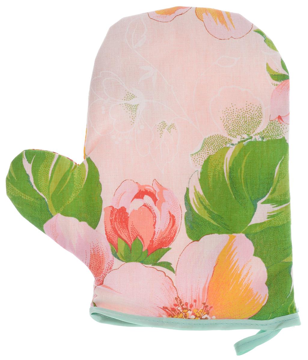 Прихватка-рукавица Roko, 16 х 28 смS03301004Прихватка-рукавица Roko, изготовленная из бязи (100% хлопка), оформлена красочным принтом. Изделие оснащено текстильной петелькой для подвешивания на крючок. Такая прихватка защитит ваши руки от высоких температур и предотвратит появление ожогов. Уважаемые клиенты! Товар поставляется в цветовом ассортименте. Поставка осуществляется в зависимости от наличия на складе.Размер изделия (ДхШ): 16 х 28 см.