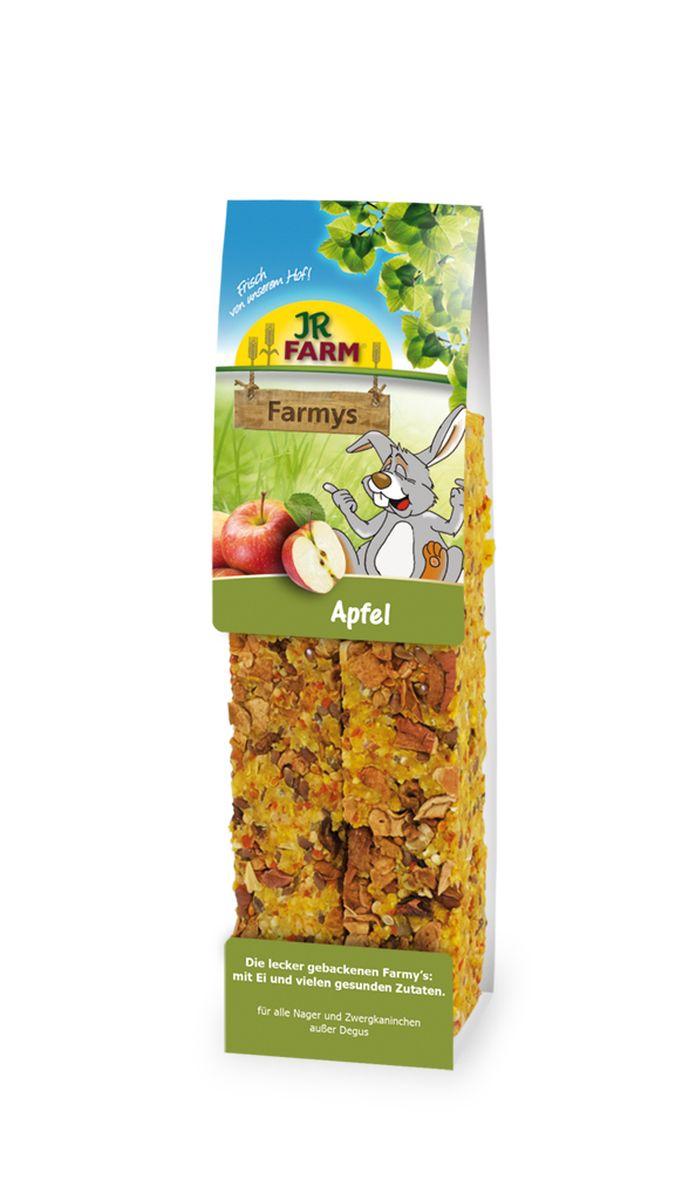 Лакомство для грызунов JR Farm Палочки, с яблоком, 160 г0120710Лакомство для грызунов JR Farm Палочки с яйцом, яблоком и множеством полезных для здоровья ингредиентов.Дополнительный корм для грызунов. Состав: злаки, семена, овощи, фрукты (яблоки 10%), орехи, яйцо и продукты яйца, побочные продукты растительного происхождения.Содержание: белок 13,9%, жиры 15,5%, клетчатка 7,6%, зола 2,1%, крахмал 1%.Товар сертифицирован.