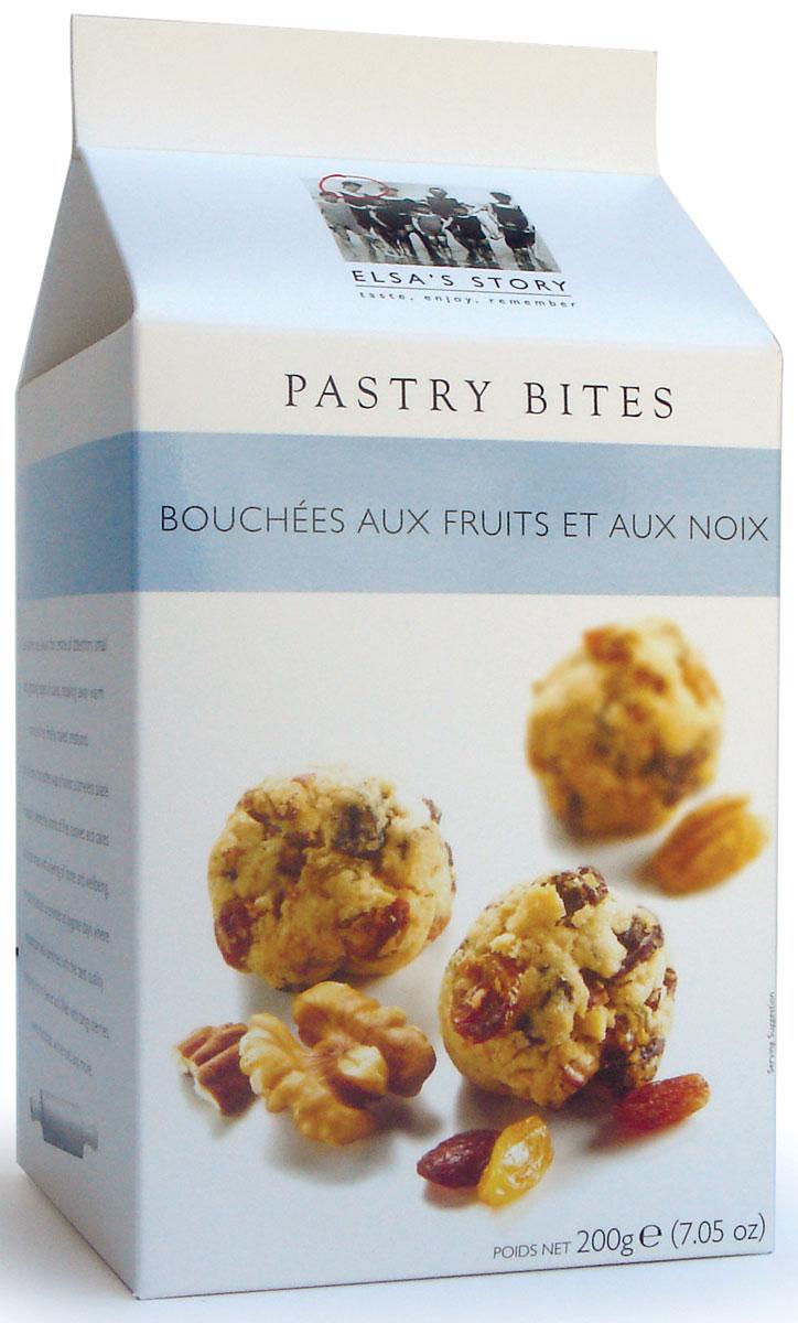 Elsas Story печенье с фруктами и орехом пекан, 200 г0120710Печенье сделано из неровных кусочков теста, что напоминает о о домашней выпечке