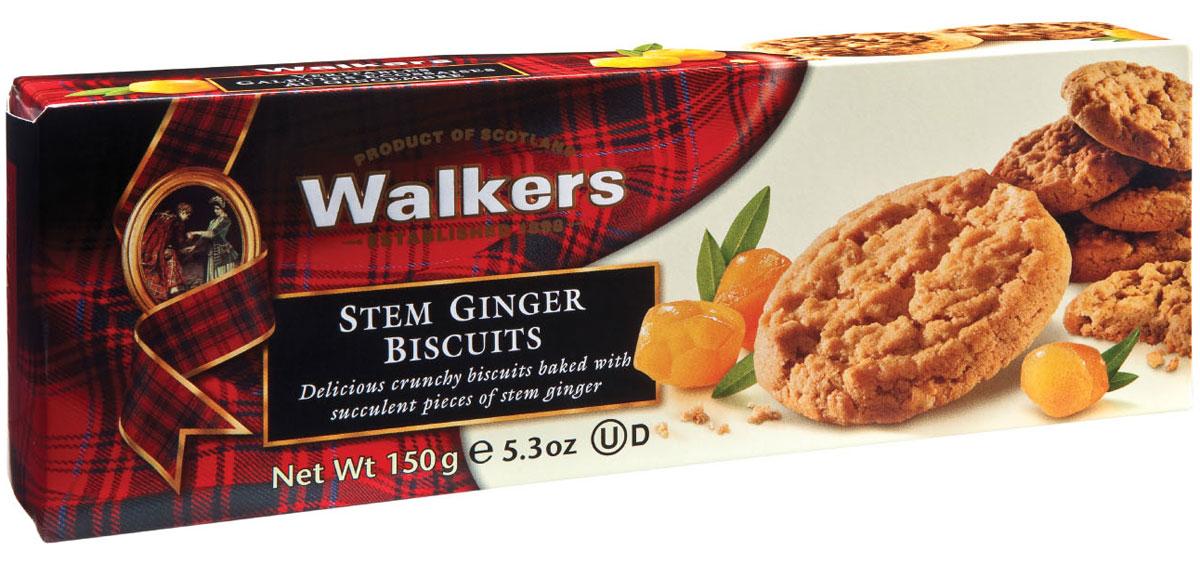 Walkers печенье со стеблем имбиря, 150 г0120710Печенье со стеблем имбиря Walkers - высококачественное печенье. Произведено согласно традиционному рецепту с использованием самых лучших натуральных ингредиентов. Великолепный мягкий, пикантный вкус австралийского имбиря станет прекрасным дополнением к чаю или кофе.Уважаемые клиенты! Обращаем ваше внимание, что полный перечень состава продукта представлен на дополнительном изображении.