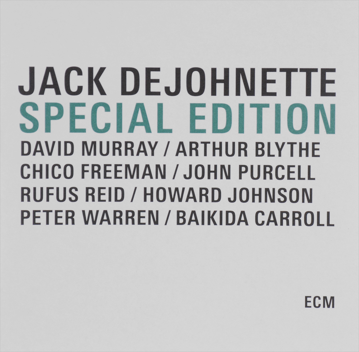 SPECIAL EDITION (BOX) (INCLUDED ECM 1152, 1189, 1244, 1280)