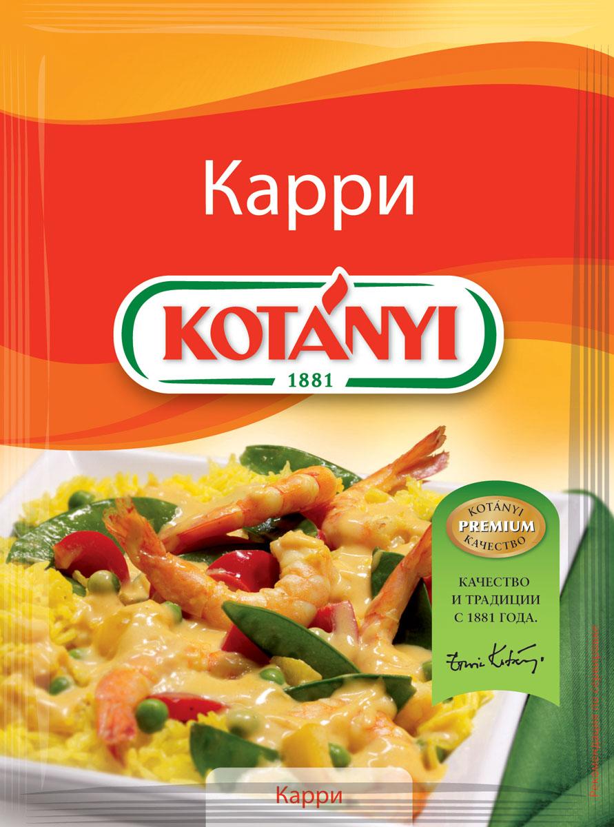 Kotanyi Приправа Карри, 27 г24Изысканная остро-сладкая приправа Kotanyi Карри придаст блюдам экзотический вкус и насыщенный цвет.Применение: мясные блюда, птица, свинина, говядина, баранина, блюда из дичи, овощей, риса и яиц. Приправа Карри повсеместно используется в индийской кухне.