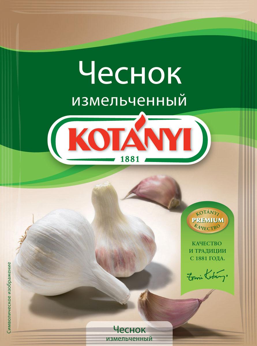 Kotanyi Чеснок измельченный, 28 г152611Чеснок обладает пикантным, немного жгучим и чуть сладковатым вкусом. Чеснок - это неотъемлемый ингредиент средиземноморской и азиатской кухни.Измельченный чеснок Kotanyi придаст вашим блюдам такой же неповторимый вкус и аромат, как и свежий чеснок.Применение: супы, соусы, овощные, мясные и сырные блюда, овощные и грибные соленья.