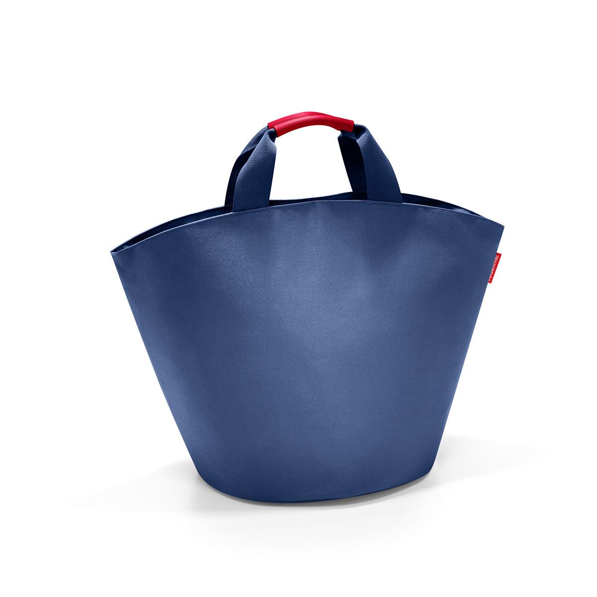 Сумка-шоппер женская Reisenthel, цвет: синий. BM4005S76245Дизайн сумки ibizashopper берет начало от классической пляжной сумки Ibiza. Солидный однотонный цвет сумки подойдет к любому наряду, а ее вместительность позволить взять с собой все необходимое. Благодаря стильной форме в виде трапеции ibizashopper всегда очень устойчива и может быть использована дома как корзина для хранения.