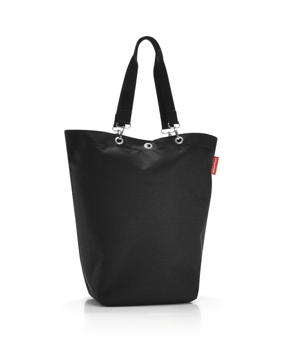 Сумка Reisenthel, цвет: черный. UC7003S76245Вместительная сумка Reisenthel изготовлена из текстиля. Сумка имеет одно отделение, которое закрывается на застежку-молнию. Внутри расположены нашивной карман на застежке-молнии и накладной открытый карман. Сумка оснащена двумя съемными длинными ручками, позволяющими носить изделие на плече.
