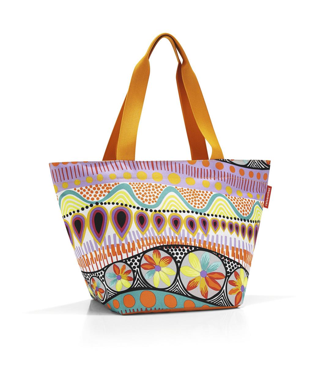 Сумка-шоппер женская Reisenthel, цвет: оранжевый. ZS2020ML597BUL/DОтличная сумка для похода за продуктами: широкие удобные лямки распределяют нагрузку на плече, а объем 15 литров позволяет вместить всё самое нужное. Застегивается на молнию. Внутри - кармашек на молнии для мелочей. Специальное уплотненное днище для надежности.