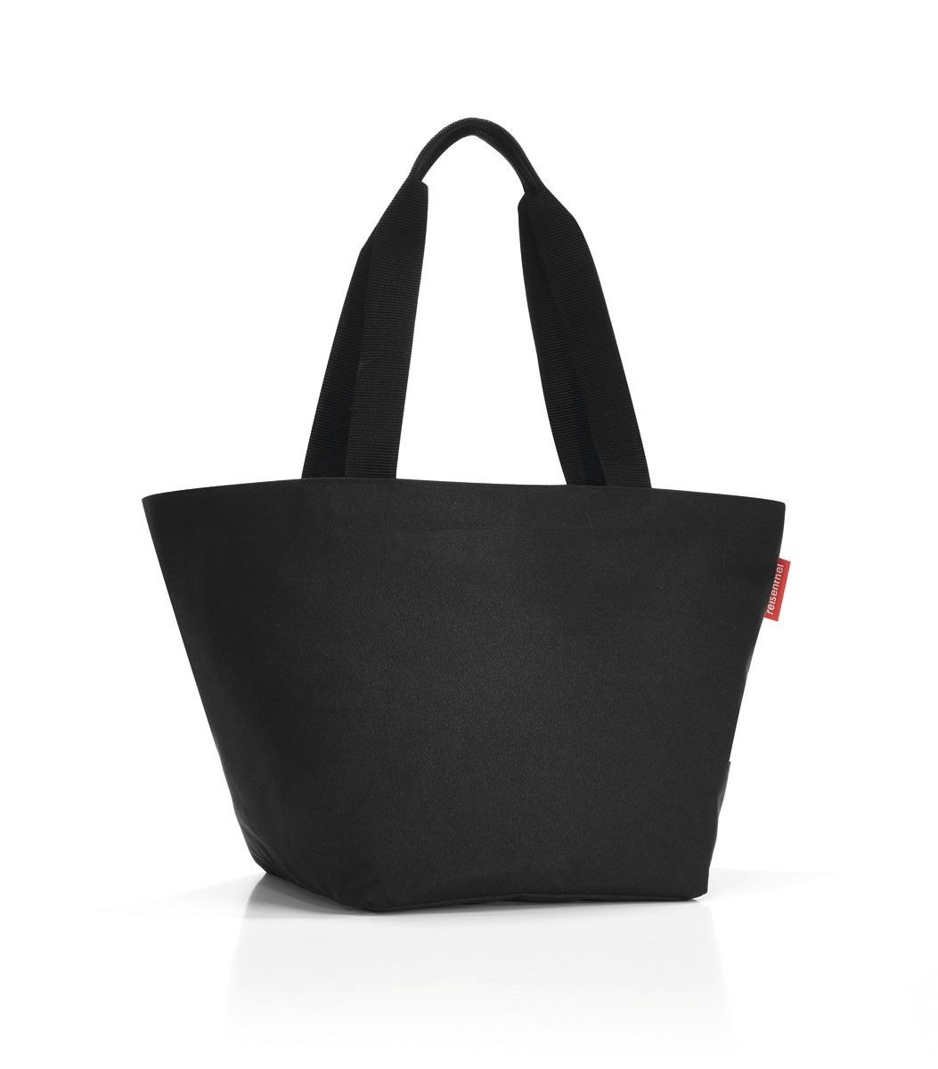 Сумка-шоппер Reisenthel, цвет: черный. ZS70038-2Отличная сумка для похода за продуктами: широкие удобные лямки распределяют нагрузку на плече, а объем 15 литров позволяет вместить всё самое нужное. Застегивается на молнию. Внутри - кармашек на молнии для мелочей. Специальное уплотненное днище для надежности.