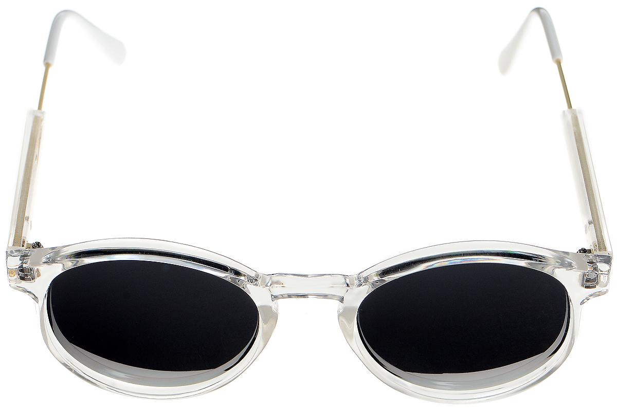 Очки солнцезащитные женские Selena, цвет: черный, белый, золотистый. 80033341INT-06501Солнцезащитные женские очки Selena выполнены из высококачественного пластика с элементами из металла.Линзы данных очков с высокоэффективным фильтром UV-400 Protection обеспечивают полную защиту от ультрафиолетовых лучей. Используемый пластик не искажает изображение, не подвержен нагреванию и вредному воздействию солнечных лучей.Такие очки защитят глаза от ультрафиолетовых лучей, подчеркнут вашу индивидуальность и сделают ваш образ завершенным.