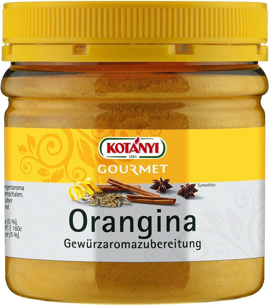 Kotanyi Приправа с ароматом апельсина, 170 г0120710Приправа Kotanyi с ароматом апельсина заменяет апельсиновую цедру. Может использоваться для сладких, а также мясных блюд, блюд из птицы и дичи, краснокачанной капусты.Уважаемые клиенты! Обращаем ваше внимание, что полный перечень состава продукта представлен на дополнительном изображении.