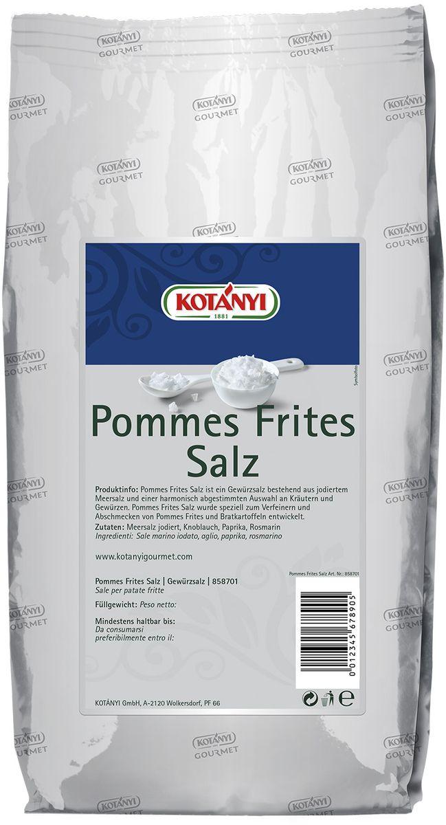 Kotanyi Для картофеля, 1 кг430411Приправа для картофеля идеально подходит для картофеля фри и жареного картофеля. Может содержать следы глютеносодержащих злаков, яиц, сои, сельдерея, кунжута, орехов, горчицы, молока (лактозы). Пищевая ценность в 100 г: энергетическая ценность: 288 кДж/69 ккал, белки 2,7 г, углеводы 10 г, жиры 1,4 г. Масса нетто: 1 кг. Хранить плотно закрытым в сухом месте.