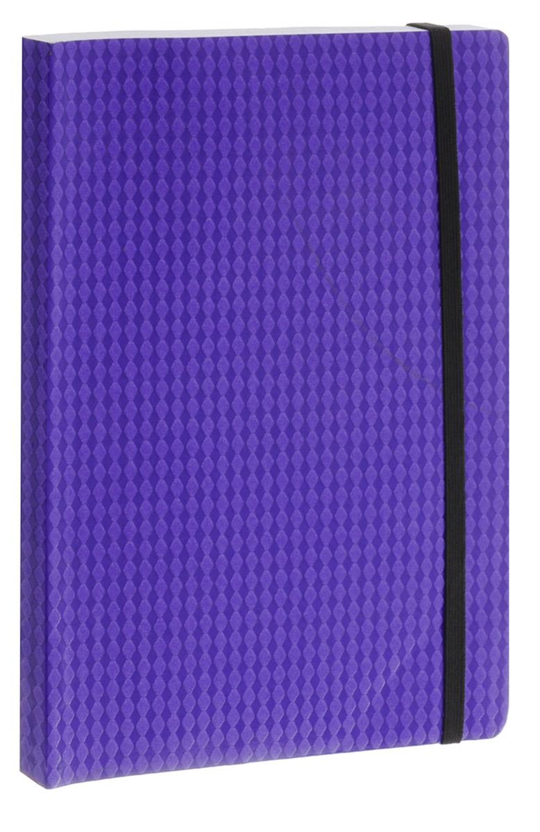 Erich Krause Тетрадь Study Up 120 листов в клетку цвет фиолетовый формат А572523WDТетрадь Erich Krause Study Up подойдет как школьнику, так и студенту.Внутренний блок состоит из 120 склеенных листов формата А5. Стандартная линовка в серую клетку без полей. Гибкая плотная обложка с закругленными уголками надежно защитит от влаги и поможет сохранить аккуратный внешний вид тетради. Фиксирующая резинка обеспечит сохранность тетрадки. Тетрадь Erich Krause Study Up займет достойное место среди ваших канцелярских принадлежностей.