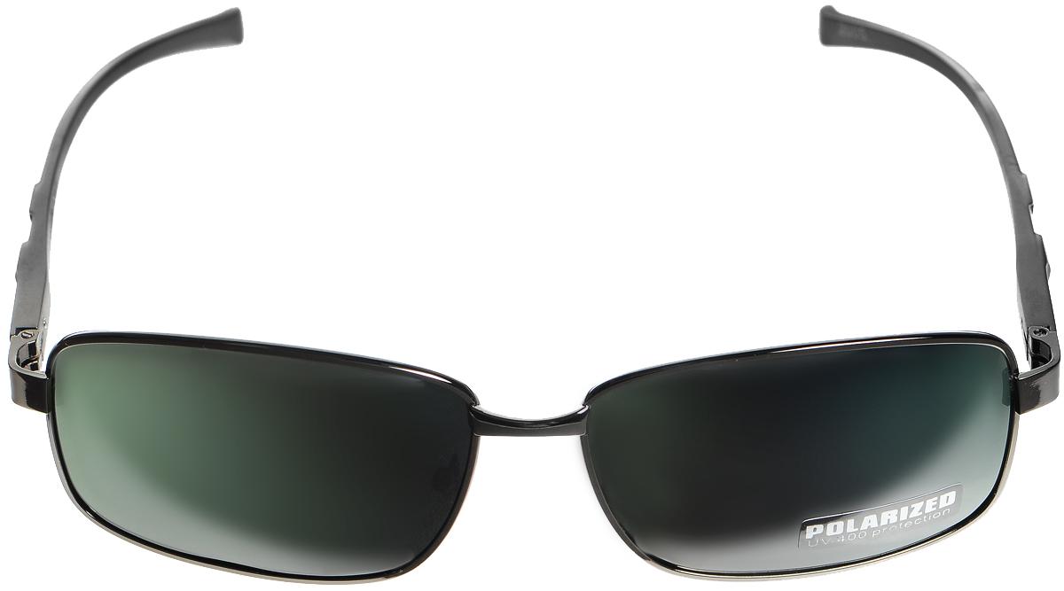 Очки солнцезащитные женские Selena, цвет: зеленый, темно-серый, серый. 80033081INT-06501Солнцезащитные женские очки Selena выполнены из металла с элементами из высококачественного пластика. Дужки оформлены декоративной резьбой.Линзы данных очков с высокоэффективным фильтром UV-400 Protection обеспечивают полную защиту от ультрафиолетовых лучей. Используемый пластик не искажает изображение, не подвержен нагреванию и вредному воздействию солнечных лучей.Такие очки защитят глаза от ультрафиолетовых лучей, подчеркнут вашу индивидуальность и сделают ваш образ завершенным.