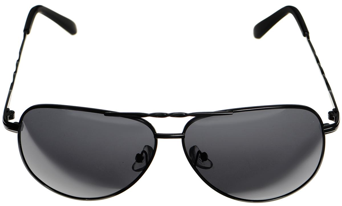 Очки солнцезащитные женские Selena, цвет: черный. 80032981BM8434-58AEСолнцезащитные женские очки Selena выполнены из высококачественного пластика. Дужки оформлены декоративными рисунком.Линзы данных очков с высокоэффективным фильтром UV-400 Protection обеспечивают полную защиту от ультрафиолетовых лучей. Используемый пластик не искажает изображение, не подвержен нагреванию и вредному воздействию солнечных лучей.Такие очки защитят глаза от ультрафиолетовых лучей, подчеркнут вашу индивидуальность и сделают ваш образ завершенным.