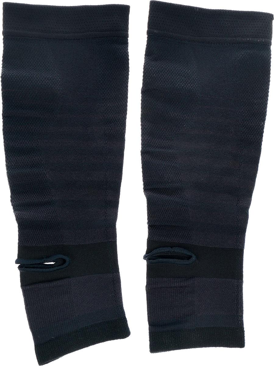 Гетры Phiten, цвет: черный. Размер S/M (28-38 см)MCI54145_WhiteГетры Phiten подходят как для занятия, так и после занятий спортом. Изделия имеют пропитку из акватитана. Специальное давление обеспечивает поддержку и увеличение силы мышц голени. Гетры снимают мышечное напряжение, повышают выносливость мышц, а также подходят для ежедневного ношения.Состав: полиэстер 60%, полиуретан 24%, хлопок 9%, нейлон 7%, акватитан.Минимальная длина: 28 см.Максимальная длина: 38 см.Ширина: 11 см.