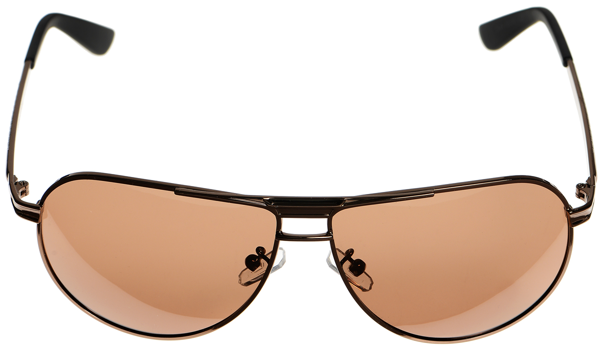 Очки солнцезащитные женские Selena, цвет: темно-коричневый, черный. 80033141BM8434-58AEСолнцезащитные женские очки Selena выполнены из металла с элементами из высококачественного пластика. Дужки оформлены декоративной резьбой.Линзы данных очков с высокоэффективным фильтром UV-400 Protection обеспечивают полную защиту от ультрафиолетовых лучей. Используемый пластик не искажает изображение, не подвержен нагреванию и вредному воздействию солнечных лучей.Такие очки защитят глаза от ультрафиолетовых лучей, подчеркнут вашу индивидуальность и сделают ваш образ завершенным.
