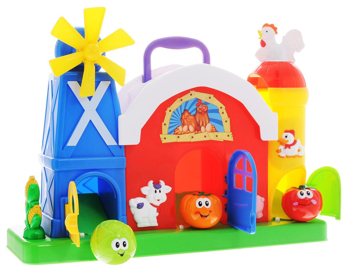 Kiddieland Развивающая игрушка Ферма с мельницей kiddieland развивающая игрушка забавная камера