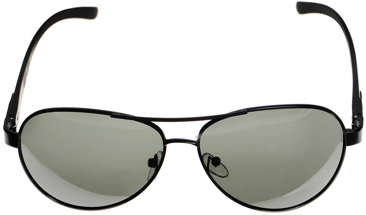 Очки солнцезащитные женские Selena, цвет: зеленый, темно-серый. 80033071INT-06501Солнцезащитные женские очки Selena выполнены из металла с элементами из высококачественного пластика. Мостик дополнен рифленой поверхностью.Линзы данных очков с высокоэффективным фильтром UV-400 Protection обеспечивают полную защиту от ультрафиолетовых лучей. Используемый пластик не искажает изображение, не подвержен нагреванию и вредному воздействию солнечных лучей.Такие очки защитят глаза от ультрафиолетовых лучей, подчеркнут вашу индивидуальность и сделают ваш образ завершенным.
