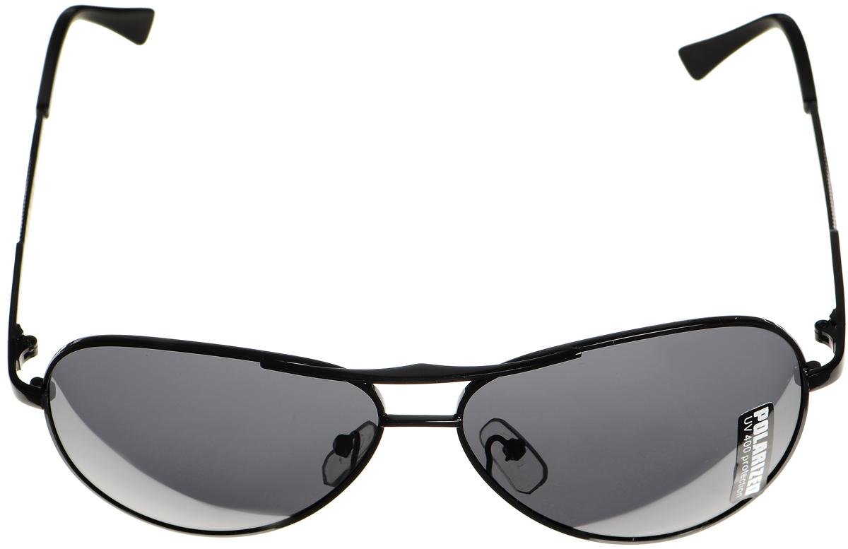 Очки солнцезащитные женские Selena, цвет: черный. 80033011BM8434-58AEСолнцезащитные женские очки Selena выполнены из металла с элементами из высококачественного пластика. Дужки оформлены оригинальной резьбой.Линзы данных очков с высокоэффективным фильтром UV-400 Protection обеспечивают полную защиту от ультрафиолетовых лучей. Используемый пластик не искажает изображение, не подвержен нагреванию и вредному воздействию солнечных лучей.Такие очки защитят глаза от ультрафиолетовых лучей, подчеркнут вашу индивидуальность и сделают ваш образ завершенным.