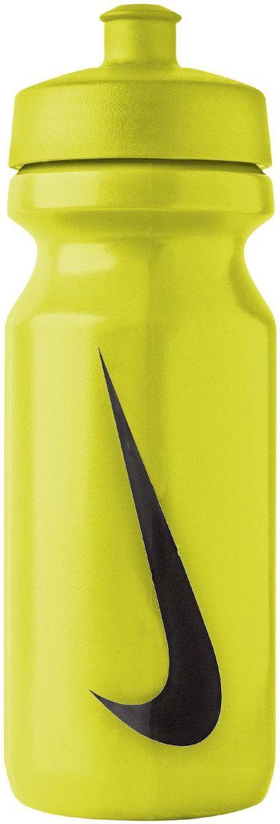 Бутылка для воды Nike, цвет: зеленый, черный, 650 мл747425Бутылка для воды. Широкое отверстие позволяет удобно наливать коктейли и добавлять лед. Просто открывающийся и, в то же время, надежный защитный колпачек. Подходит для велосипедных держателей. Объем 650 мл.