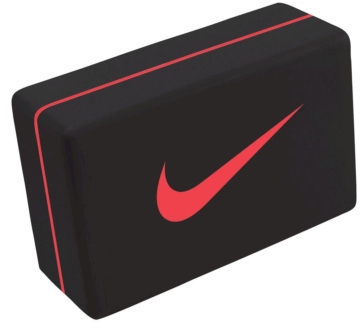 Блок для йоги Nike, цвет: черный, красный