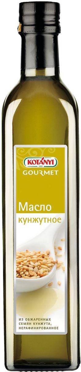 Kotanyi Масло кунжутное, 500 мл0120710Обжаренные семена кунжута придают маслу Kotanyi характерный, слегка сладковатый вкус.Кунжутное масло Kotanyi идеально подходит для приготовления салатов, риса, овощей и блюд восточной и азиатской кухни. Также, это масло прекрасно подойдет для жарки.Страна происхождения: Мексика.