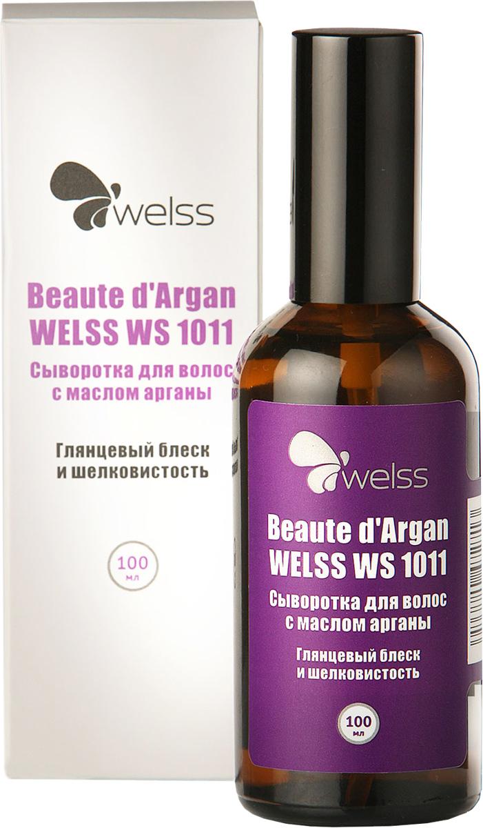 Сыворотка для волос с маслом арганы Beaute d`Argan WELSS WS 1011, 100млSatin Hair 7 BR730MNУникальная формула несмываемой сыворотки для волос глубоко питает и восстанавливает поверхность волос, придает вашим локонам здоровый ухоженный вид, глянцевый блеск и шелковистость.Защищает от солнца, ветра , мороза и от воздействия других вредных факторов окружающей внешней среды