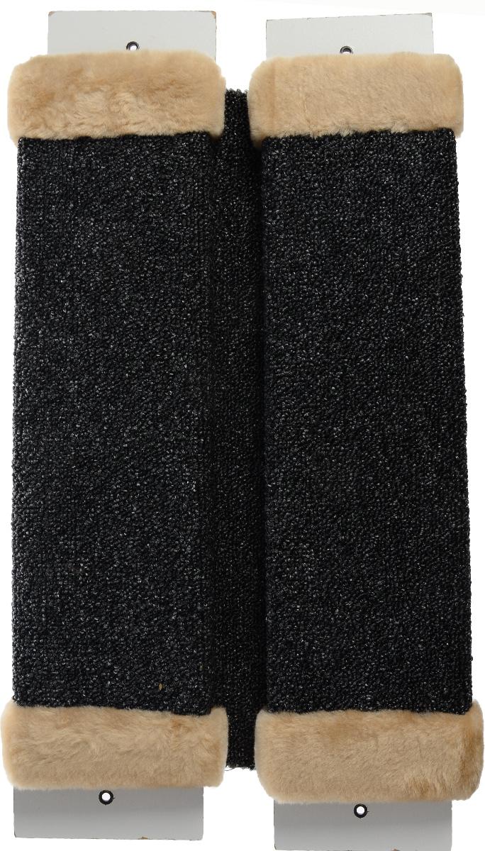 Когтеточка ЗооМарк, настенная, угловая, цвет: бежевый, 57 х 30 х 3,5 см0120710Угловая когтеточка ЗооМарк предназначена для стачивания когтей вашей кошки и предотвращения их врастания. Волокна ковролина обеспечивает естественный уход за когтями питомца. Когтеточка позволяет сохранить неповрежденными мебель и другие предметы интерьера. Угловая когтеточка может крепиться на смежных поверхностях стен и пола.Длина когтеточки: 57 см.Длина рабочей части: 48 см.