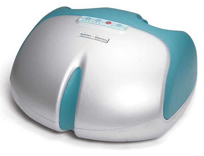 Массажер для ног Phiten Solarch. BE6360001301154Массажер для ног Phiten восстанавливает организм по японскому методу Шиацу. Массажер эффективно борется с напряжением в ногах и усталостью, нормализуя артериальное давление, повышая иммунитет и улучшая работу ЦНС.Применяя массажер для ног Phiten, вы активируете целебные свойства организма, проводите лечение и восстановление нервной, эндокринной и такой уязвимой сердечно-сосудистой системы. При помощи Phiten вы сможете избавиться от плоскостопия на момент начала болезни или облегчить состояние больного на поздних стадиях.Благодаря способности расслаблять нервную систему этот массажер способен вылечить бессонницу и сделать сон здоровым и крепким. Phiten с легкостью избавит вас от отечности и усталости в ногах, принося только приятные ощущения и крепкое здоровье. Рекомендации для применения массажера Phiten имеют достаточно широкий спектр заболеваний, причем данная методика имеет мало противопоказаний и не дает побочных реакций.Название массажера скомбинировано из слов СТОПА и СВОД и олицетворяет здоровье стопы. Всю стопу массируют 10 воздушных подушек и платформа в основании стопы. Повторяется точная техника массажа пальцами. Сложные движения воспроизводят массаж, очень похожий на человеческие руки.Подходит для стоп размером от 35 до 47.